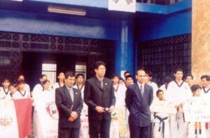 edgard camargo presidente de la federación peruana de taekwondo